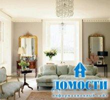 Гостиная, окруженная французской красотой