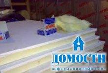 Гипсокартонная теплоизоляция для стен