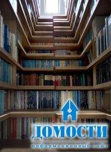 Креативные шкафы для книг