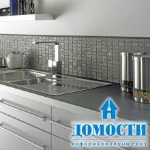 Современная мозаика на кухне