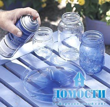 Распыление воды своими руками