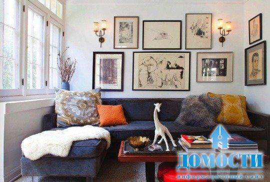 Картины на стену в гостиную над диваном