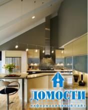 Современные барные стойки на кухне