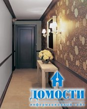 Декорирование узкого коридора