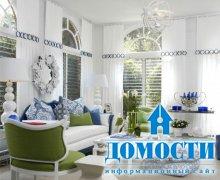 Классический и современный дизайн зала