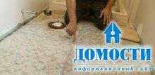 Укладка кафеля на пол в ванной