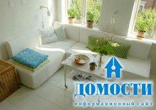 Секционные диваны в маленьких комнатах