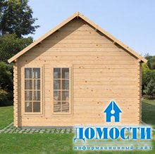 Дачный домик из профилированного бруса