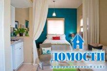 Красивый дизайн комнаты-гостинки