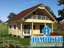 Стабильные и надежные дома из клееного бруса