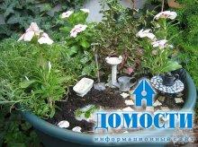 Уникальные садовые горшки и клумбы