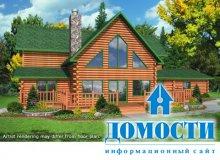 Схемы деревянных коттеджей