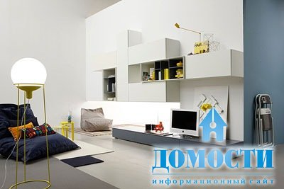 гостиные стенки модерн