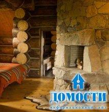 Дом из гигантских бревен