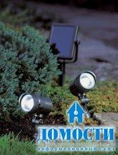 Солнечные фонарики для сада