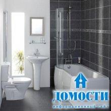 Угловые ванные комнаты