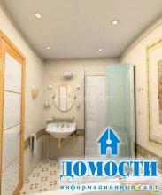 Цветовой дизайн маленьких ванных