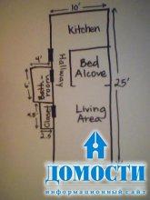 Дизайн квартиры с нишей для кровати
