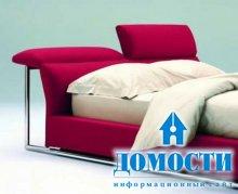 Кровати с гибким изголовьем