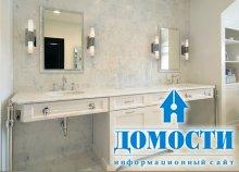 Дизайн белоснежных ванных