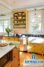 Красивые и практичные деревенские кухни