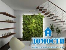 Современные зеленые интерьеры