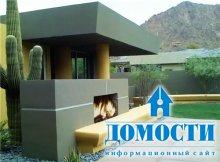 Дизайн сада в современном стиле