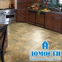 Кухонный ламинат с имитацией плитки