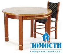 Стол для кухни с кленовой отделкой