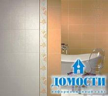 Гармоничный кафель в ванной