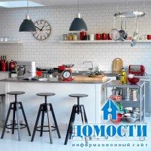 Черно-белые кухни: 10 лучших