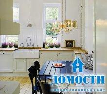 Скандинавские кухни: черное и белое
