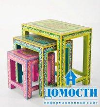 Стилизованная деревянная мебель