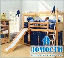 Детские кровати с горками