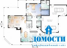 Загородные дома различных стилей