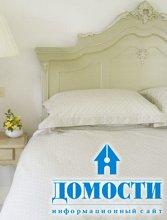 Декорирование винтажной спальни