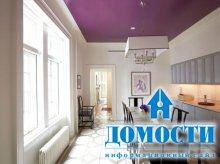 Изысканные фиолетовые интерьеры