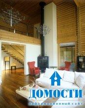 Современный бревенчатый дом