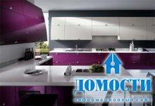 Высокотехнологичный интерьер кухни