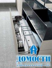 Промышленный шик на кухне