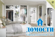 Гардеробные комнаты в спальне