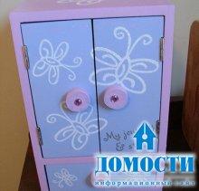 Самостоятельное обновление детской мебели