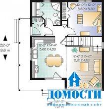 Современные мансардные дома