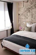 Современные спальни с яркими акцентами