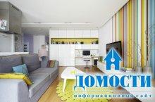 Красочная квартира с открытой планировкой