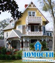 Правильный цвет экстерьера дома