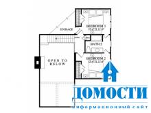 Традиционные двухэтажные дома