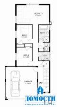 Австралийские проекты узких домов