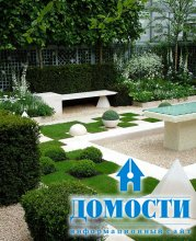 Необычные дизайны дворов
