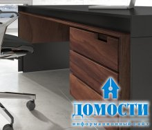 Импозантный стол из массива